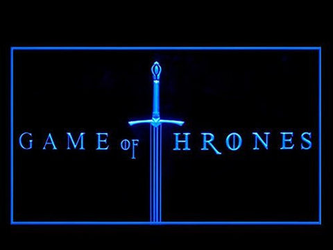 Image of Game of Thrones LED Neon Sign - Blue - SafeSpecial