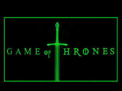 Game of Thrones LED Neon Sign - Green - SafeSpecial