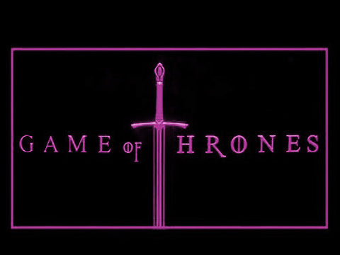 Image of Game of Thrones LED Neon Sign - Purple - SafeSpecial