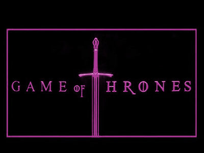 Game of Thrones LED Neon Sign - Purple - SafeSpecial