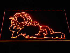 Garfield Lounge LED Neon Sign - Orange - SafeSpecial