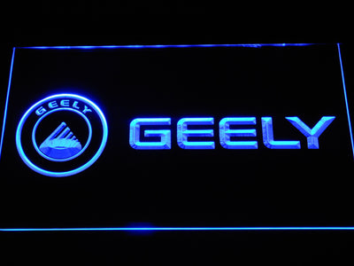 Geely LED Neon Sign - Blue - SafeSpecial