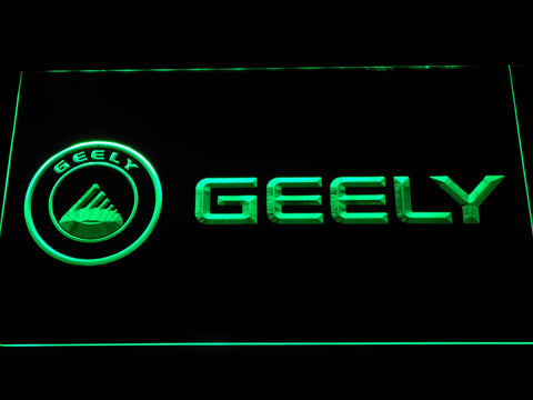 Image of Geely LED Neon Sign - Green - SafeSpecial