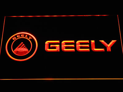 Geely LED Neon Sign - Orange - SafeSpecial