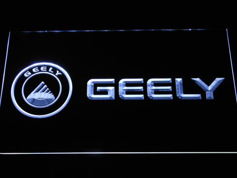 Image of Geely LED Neon Sign - White - SafeSpecial