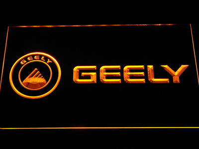 Geely LED Neon Sign - Yellow - SafeSpecial