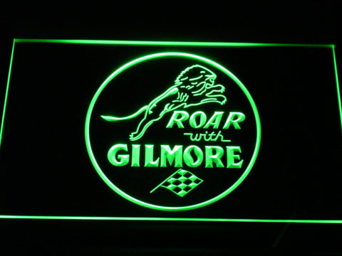 Image of Gilmore Gasoline LED Neon Sign - Green - SafeSpecial