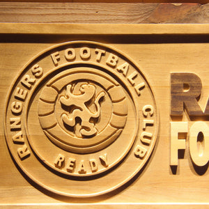 Glasgow Rangers FC Wooden Sign - Legacy Edition - - SafeSpecial