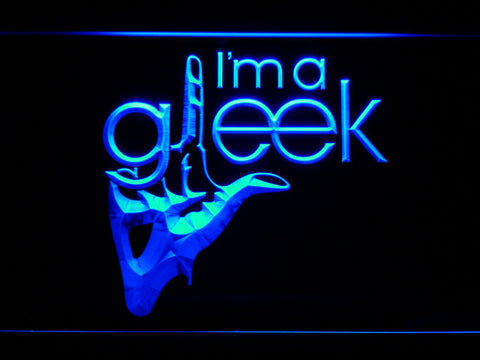 Image of Glee I'm A Gleek LED Neon Sign - Blue - SafeSpecial