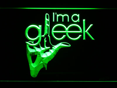 Glee I'm A Gleek LED Neon Sign - Green - SafeSpecial