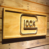Glock Wooden Sign - - SafeSpecial