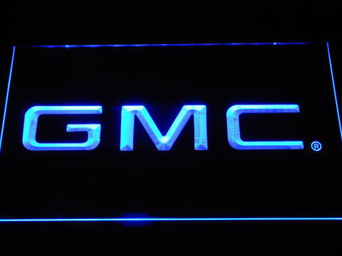 Image of GMC LED Neon Sign - Blue - SafeSpecial