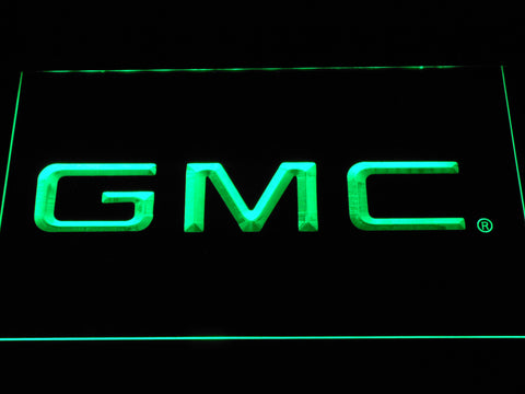 Image of GMC LED Neon Sign - Green - SafeSpecial