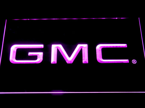Image of GMC LED Neon Sign - Purple - SafeSpecial