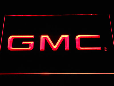 GMC LED Neon Sign - Red - SafeSpecial