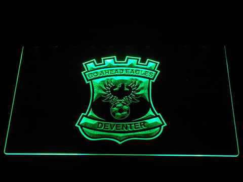 Image of Go Ahead Eagles LED Neon Sign - Green - SafeSpecial