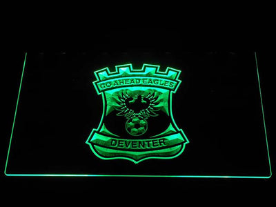 Go Ahead Eagles LED Neon Sign - Green - SafeSpecial