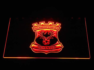 Go Ahead Eagles LED Neon Sign - Orange - SafeSpecial