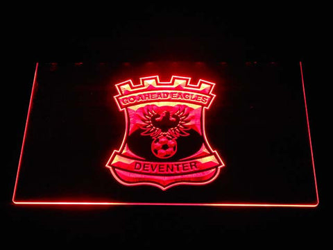 Image of Go Ahead Eagles LED Neon Sign - Red - SafeSpecial