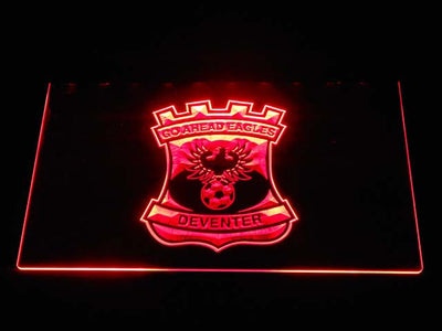 Go Ahead Eagles LED Neon Sign - Red - SafeSpecial