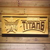 Gold Coast Titans Wooden Sign - Small - SafeSpecial