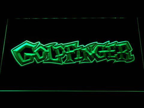 Image of Goldfinger LED Neon Sign - Green - SafeSpecial