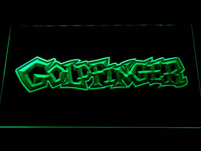 Goldfinger LED Neon Sign - Green - SafeSpecial