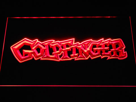 Image of Goldfinger LED Neon Sign - Red - SafeSpecial