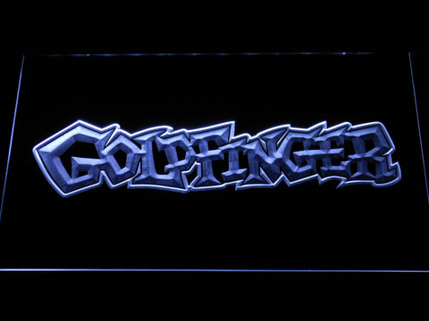 Image of Goldfinger LED Neon Sign - White - SafeSpecial