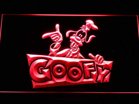 Image of Goofy LED Neon Sign - Red - SafeSpecial