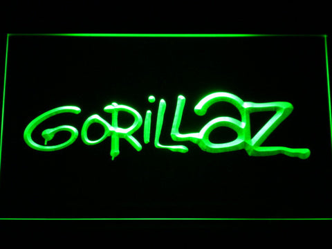 Gorillaz LED Neon Sign - Green - SafeSpecial