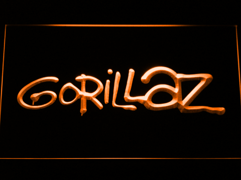 Gorillaz LED Neon Sign - Orange - SafeSpecial