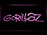 Gorillaz LED Neon Sign - Purple - SafeSpecial