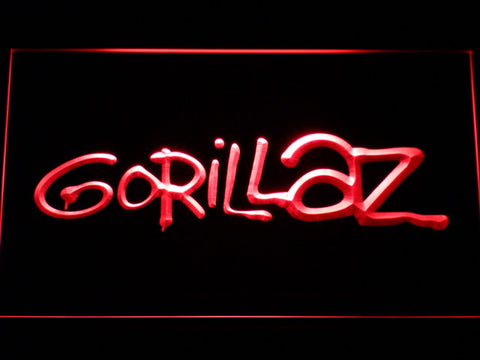 Gorillaz LED Neon Sign - Red - SafeSpecial