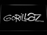 Gorillaz LED Neon Sign - White - SafeSpecial