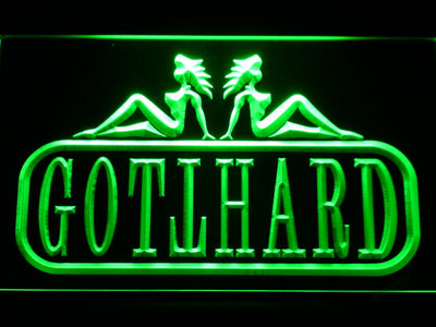 Gotthard LED Neon Sign - Green - SafeSpecial