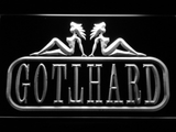 Gotthard LED Neon Sign - White - SafeSpecial