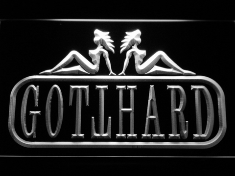 Image of Gotthard LED Neon Sign - White - SafeSpecial
