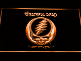 Grateful Dead LED Neon Sign - Orange - SafeSpecial