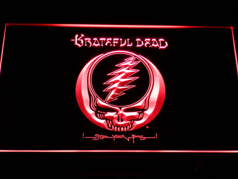 Grateful Dead LED Neon Sign - Red - SafeSpecial