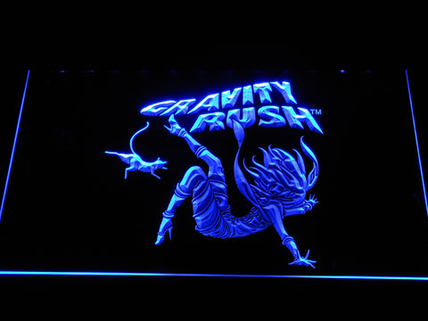 Image of Gravity Rush LED Neon Sign - Blue - SafeSpecial