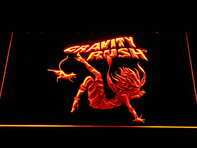 Gravity Rush LED Neon Sign - Orange - SafeSpecial