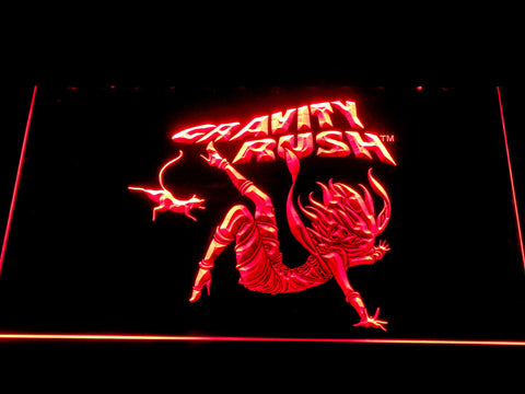 Image of Gravity Rush LED Neon Sign - Red - SafeSpecial