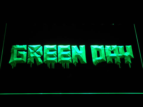 Green Day 21st Century Breakdown LED Neon Sign - Green - SafeSpecial