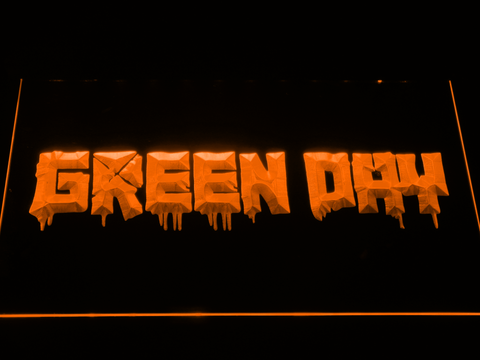 Green Day 21st Century Breakdown LED Neon Sign - Orange - SafeSpecial