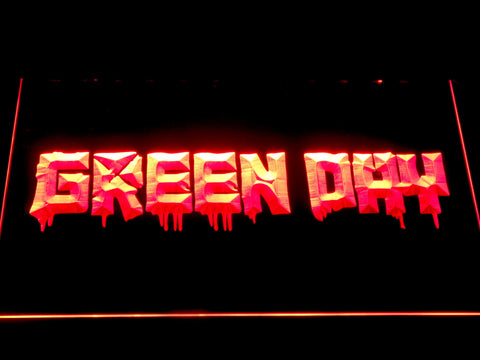 Green Day 21st Century Breakdown LED Neon Sign - Red - SafeSpecial
