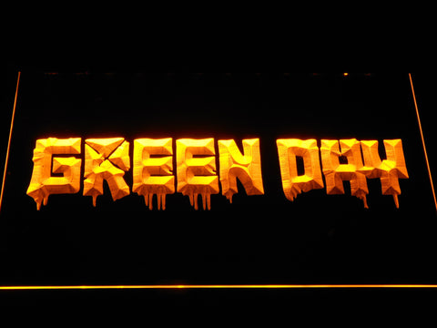 Green Day 21st Century Breakdown LED Neon Sign - Yellow - SafeSpecial