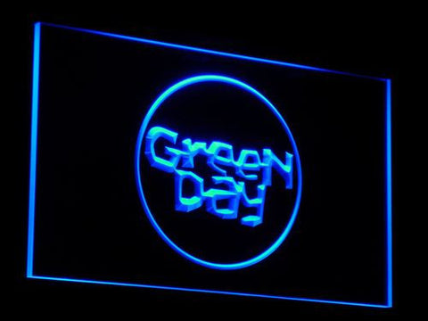 Green Day Kerplunk LED Neon Sign - Blue - SafeSpecial