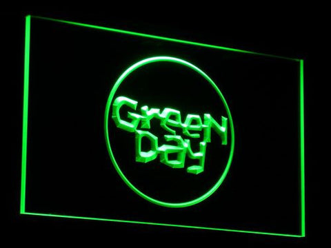 Green Day Kerplunk LED Neon Sign - Green - SafeSpecial