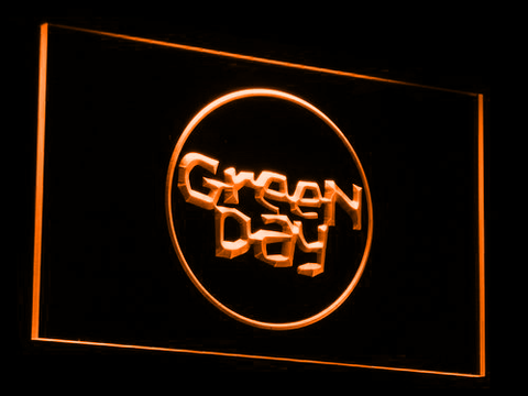 Green Day Kerplunk LED Neon Sign - Orange - SafeSpecial
